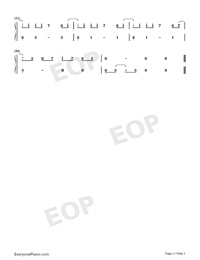 Loca-Alvaro Soler-Numbered-Musical-Notation-Preview-3