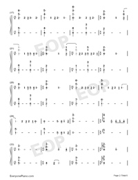 Shape of You-Play Version-Numbered-Musical-Notation-Preview-2