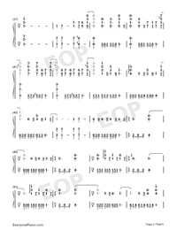 Shape of You-Play Version-Numbered-Musical-Notation-Preview-3