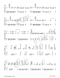 Shape of You-Play Version-Numbered-Musical-Notation-Preview-4