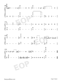 Shape of You-Play Version-Numbered-Musical-Notation-Preview-6