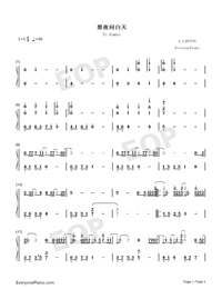 53 Dawns-JJ Lin-Numbered-Musical-Notation-Preview-1