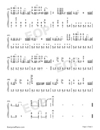 Summer Perfect Version-Kikujiro-Numbered-Musical-Notation-Preview-3
