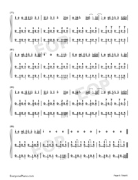 I Dont Care-Ed Sheeran ft Justin Bieber-Numbered-Musical-Notation-Preview-6