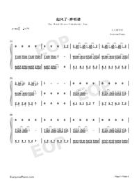 起風了-彈唱譜雙手簡譜預覽1