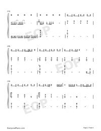 起風了-彈唱譜雙手簡譜預覽2