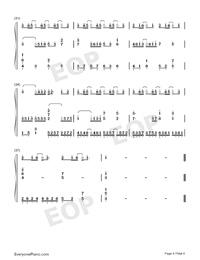起風了-彈唱譜雙手簡譜預覽4
