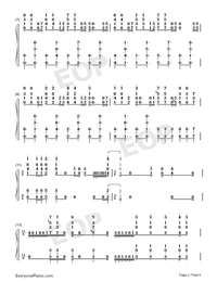 Hes a Pirate-Perfect Version-He's a Pirate-Numbered-Musical-Notation-Preview-2