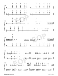 Hes a Pirate-Perfect Version-He's a Pirate-Numbered-Musical-Notation-Preview-3