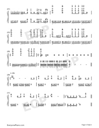 Hes a Pirate-Perfect Version-He's a Pirate-Numbered-Musical-Notation-Preview-4