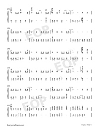Believers-Jam Hsiao Numbered Musical Notation Preview 2
