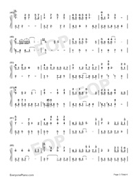 Believers-Jam Hsiao-Numbered-Musical-Notation-Preview-3