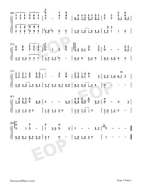 Believers-Jam Hsiao Numbered Musical Notation Preview 4