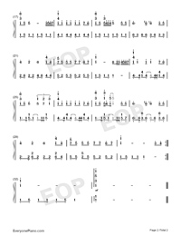 Nobody's Boy Remi-Adapted Version-Numbered-Musical-Notation-Preview-2