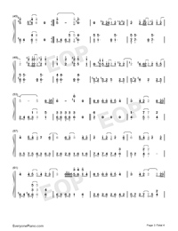A Moment-A-Mei and Jam Hsiao Numbered Musical Notation Preview 3