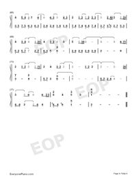 A Moment-A-Mei and Jam Hsiao Numbered Musical Notation Preview 4