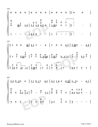 Viātor-Maquia When the Promised Flower Blooms Theme-Numbered-Musical-Notation-Preview-4