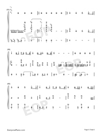 Viātor-Maquia When the Promised Flower Blooms Theme-Numbered-Musical-Notation-Preview-6