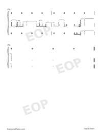 Viātor-Maquia When the Promised Flower Blooms Theme-Numbered-Musical-Notation-Preview-8