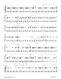 Rescue Me-OneRepublic-Numbered-Musical-Notation-Preview-2