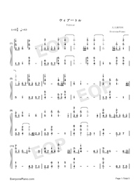 Viāto-Piano Version-Numbered-Musical-Notation-Preview-1