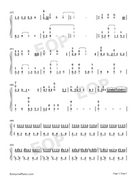 Viāto-Piano Version-Numbered-Musical-Notation-Preview-3