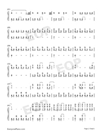 Because of You-The Piano Guys-Numbered-Musical-Notation-Preview-2
