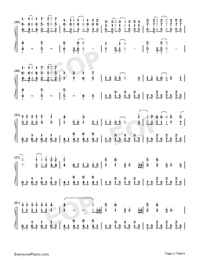 Because of You-The Piano Guys-Numbered-Musical-Notation-Preview-3