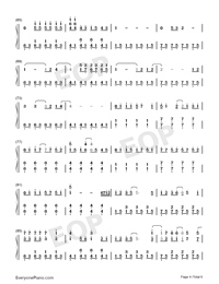 Because of You-The Piano Guys-Numbered-Musical-Notation-Preview-4