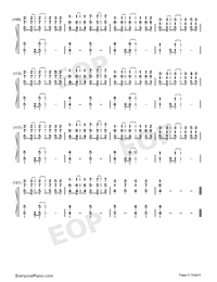 Because of You-The Piano Guys-Numbered-Musical-Notation-Preview-6