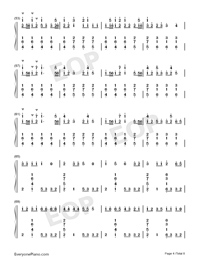 Congratulations-Pewdiepie-Numbered-Musical-Notation-Preview-4