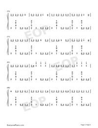 Congratulations-Pewdiepie-Numbered-Musical-Notation-Preview-5