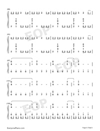 Congratulations-Pewdiepie-Numbered-Musical-Notation-Preview-6