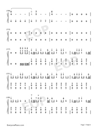 Congratulations-Pewdiepie-Numbered-Musical-Notation-Preview-7