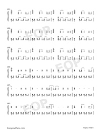 Take Me Hand-Perfect Version-Numbered-Musical-Notation-Preview-2