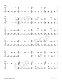 Take Me Hand-Perfect Version Numbered Musical Notation Preview 3