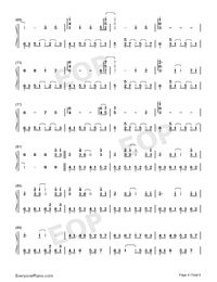 Take Me Hand-Perfect Version Numbered Musical Notation Preview 4