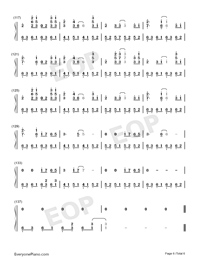 Take Me Hand-Perfect Version-Numbered-Musical-Notation-Preview-6