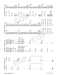 Fudō no Yamagami~Gammoth-Monster Hunter XX BGM-Numbered-Musical-Notation-Preview-3