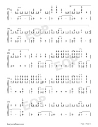 Rockstar-A Great Big World Numbered Musical Notation Preview 2