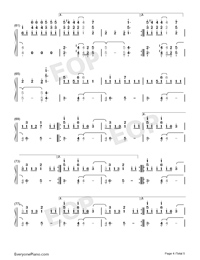 Rockstar-A Great Big World Numbered Musical Notation Preview 4