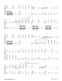 Xanny-Billie Eilish-Numbered-Musical-Notation-Preview-4
