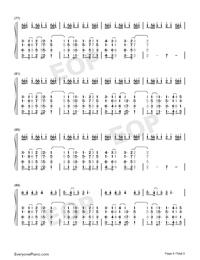 Heaven-Avicii ft Chris Martin両手略譜プレビュー6