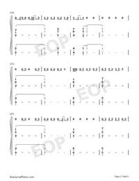 Bruises-Lewis Capaldi-Numbered-Musical-Notation-Preview-2