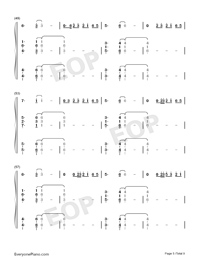 Bruises-Lewis Capaldi-Numbered-Musical-Notation-Preview-5