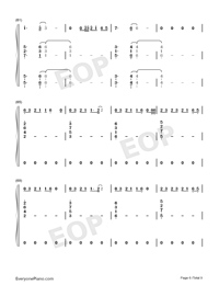 Bruises-Lewis Capaldi-Numbered-Musical-Notation-Preview-6