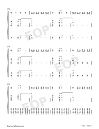 Bruises-Lewis Capaldi-Numbered-Musical-Notation-Preview-7