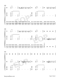 Bruises-Lewis Capaldi-Numbered-Musical-Notation-Preview-8