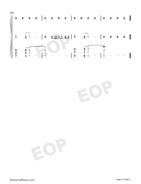 Bruises-Lewis Capaldi-Numbered-Musical-Notation-Preview-9