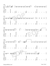 One-Lewis Capaldi-Numbered-Musical-Notation-Preview-4